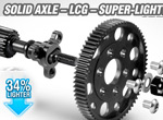 SMI XRAY News Xray XB2´21 lightweight solid axle set