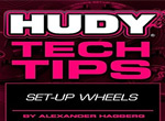 SMI HUDY News HUDY Tech Tips - Set-up Wheels