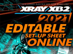 SMI XRAY News XB2´21 Set-Up Online bearbeiten