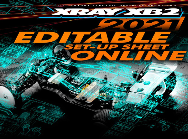 SMI XRAY News XB2´21 Set-Up Online bearbeiten