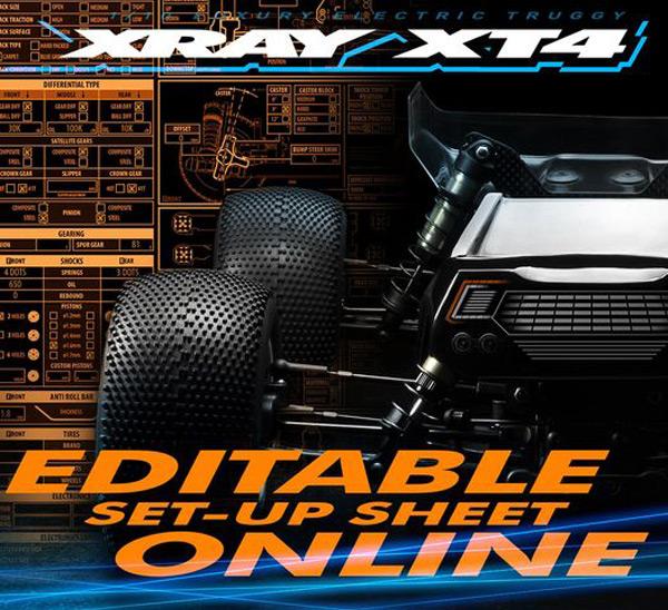 SMI XRAY News XT4.2 Set-Up Online bearbeiten