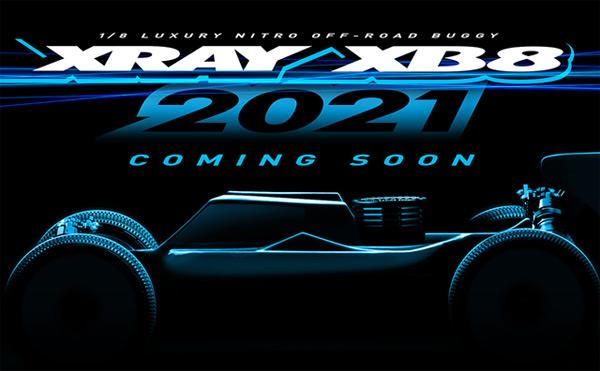 SMI XRAY News XRAY XB8´21 Is Coming Soon