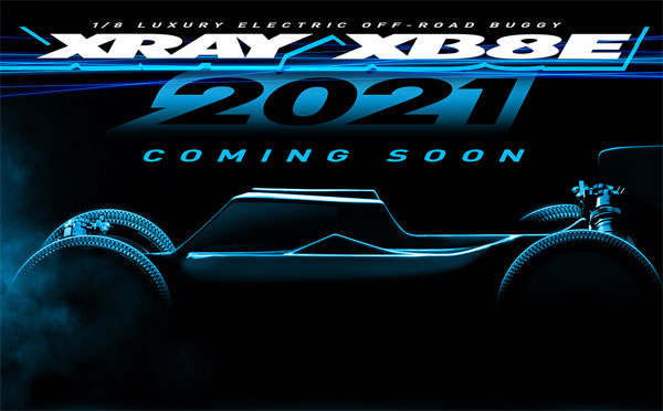 SMI XRAY News XRAY XB8E´21 Is Coming Soon