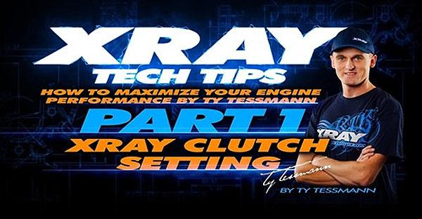 SMI XRAY News XRAY Tech Tips - Kupplungseinstellung