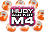SMI HUDY News HUDY Selbstsichernde Alu M4 Muttern