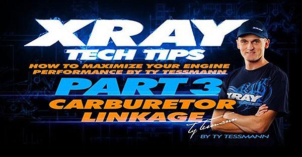 SMI XRAY News XRAY Tech Tips - Vergasergestänge