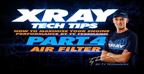SMI XRAY News XRAY Tech Tips - Luftfilter