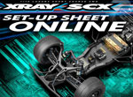SMI XRAY News SCX Set-Up Sheet Online