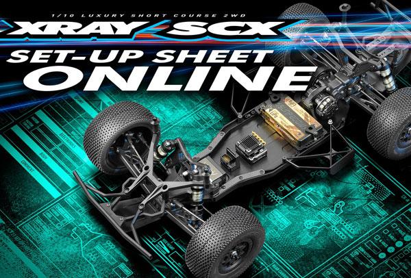SMI XRAY News SCX Set-Up Sheet Online