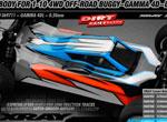 SMI XRAY News 1/10 4WD Buggy Karo Gamma 4D light