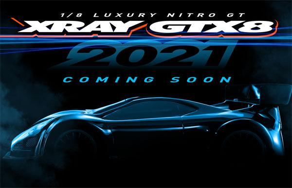 SMI XRAY News XRAY GTX8´21 Is Coming Soon