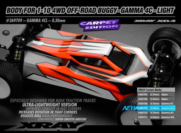 SMI XRAY News 1/10 4WD Offroad Karo Gamma 4C light