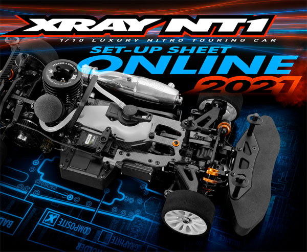 SMI XRAY News NT1´ 21 Set-Up sheet Online