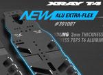 SMI XRAY News Neues T4´21 Alu Extra Flex Chassis