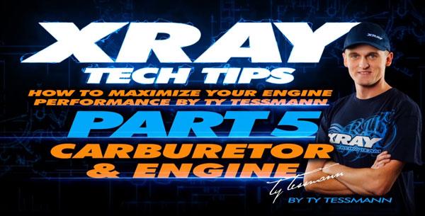 SMI XRAY News XRAY Tech Tips - Vergaser & Motor