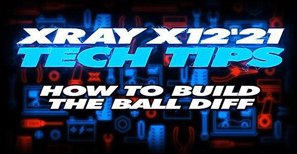 SMI XRAY News XRAY Tech Tips  X12 Aufbau des Balldiff