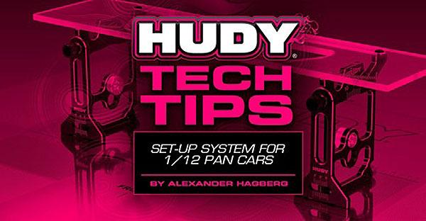 SMI HUDY News Tech Tips  Set up System 1/12 pan car