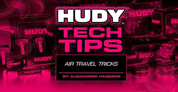 SMI HUDY News HUDY Tech Tips - Air Travel Tricks
