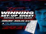 SMI Motorsport News Winning Set Up Sheet T.Tessmann