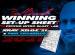 SMI Motorsport News Winning Set Up Sheet P.Ciccarello