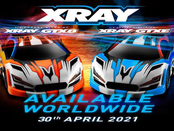 SMI XRAY News GTX8`22 GTX8E´22 Coming Soon