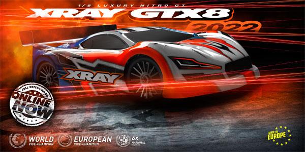 SMI XRAY News New GTX8´22 Online now