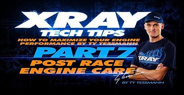 SMI XRAY News Tech Tips - Motorpflege nach Rennen