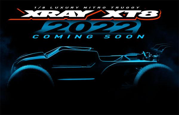 SMI XRAY News XRAY XT8´22 coming soon