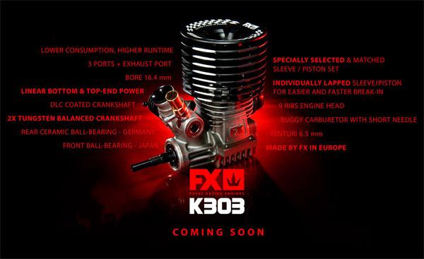 SMI FX-Engines FX Engines K303 comong soon 2