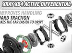 SMI XRAY News Neues XB4 Aktives Center Diff Set