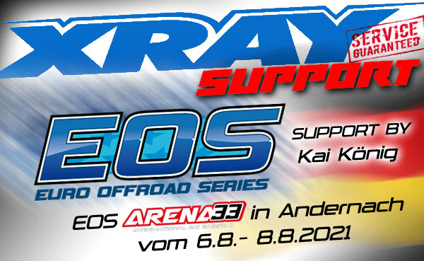 SMI Motorsport News XRAY Support by EOS in Andernach