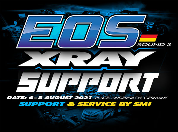 SMI Motorsport News EOS R3 Xray Support