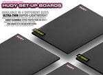 SMI HUDY News New Flat Set-Up Board Light Dark Grey