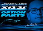 SMI XRAY News Alex Hagberg´s X12 Option Parts
