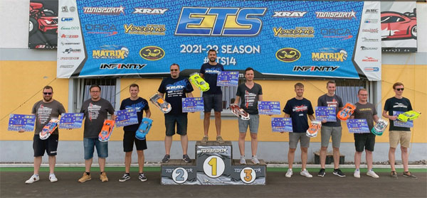 SMI Motorsport News XRAY 4x Win at ETS R. 2 DE