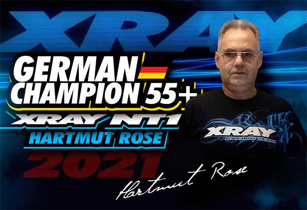 SMI XRAY News H.Rose ist Deutscher Meister 55+ VG10
