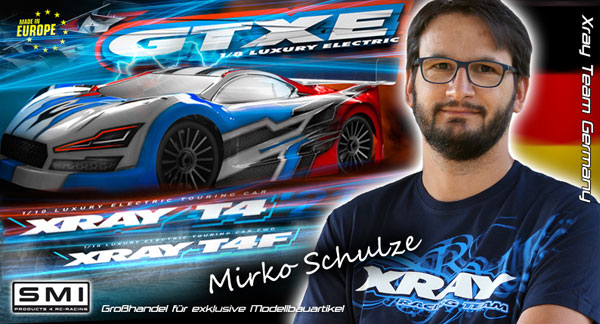 SMI Motorsport News M.Schulze im XRAY Germany Team