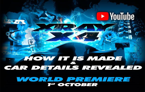 SMI XRAY News X4 how it is made & car details revealed