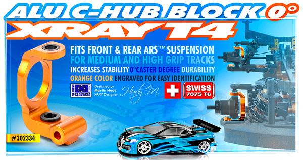 SMI XRAY News XRAY T4 Aluminium C-Hub