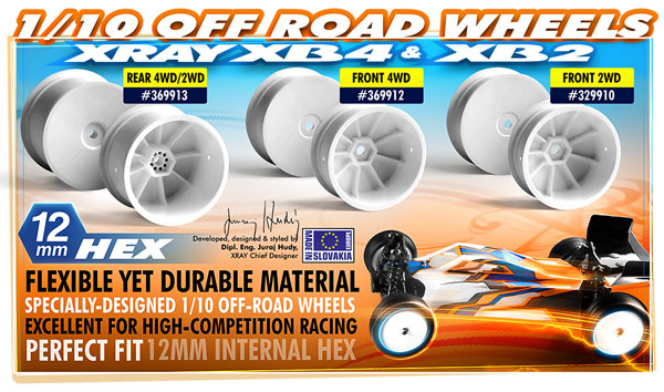 SMI XRAY News XRAY 1:10 Offroad-Disk-Felgen