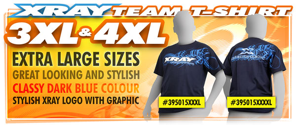 SMI XRAY News XRAY T-Shirt mit Teamlogo