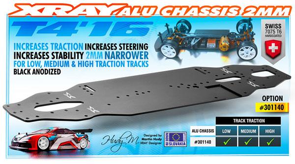 SMI XRAY News XRAY T416 Alu Chassis