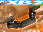 SMI XRAY News XRAY XB2 Rollcenter Halterung