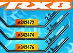 SMI XRAY News XRAY RX8 vorderer Stabilisator