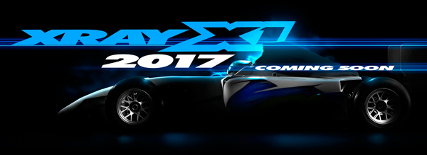 SMI XRAY News XRAY X1´17 coming soon