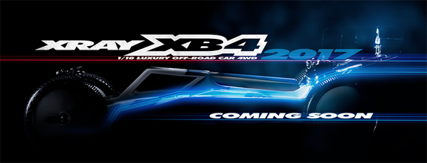 SMI XRAY News XRAY XB4´17 coming soon
