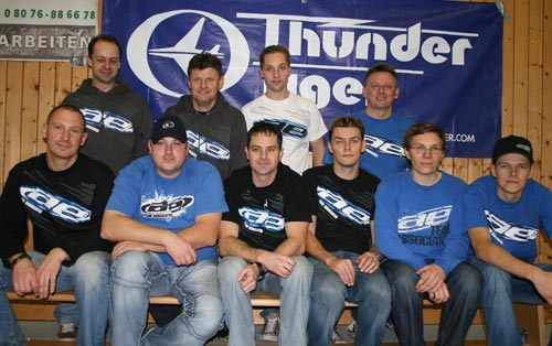 Thunder Tiger Indoor Dirt Race