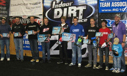 Absima/TeamC Indoor Dirt Race 2012