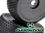 Absima R�derset LP-B Disc/Dirt black (2)