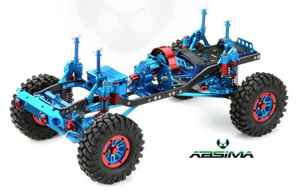 Absima CR-01 4WD Crawler Rolling Chassis